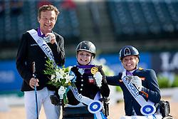 Tange Kaastrup Stinna, Nicola den Dulk, Pepo Puch<br /> World Equestrian Games - Tryon 2018<br /> © Hippo Foto - Dirk Caremans<br /> 18/09/2018