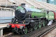 Mayflower Steam Locomotive - The Royal Windsor Steam Express