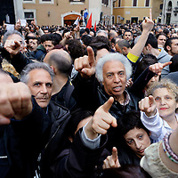 Proteste contro la rielezione di Giorgio Napolitano