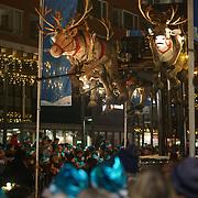 NLD/Amstelveen/20181222 - SBS Kerstparade 2018, vliegende herten
