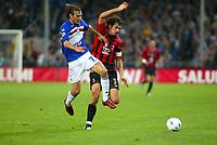 Genova 30-10-2004<br /> <br /> Campionato  Serie A Tim 2004-2005<br /> <br /> Sampdoria Milan<br /> <br /> nella  foto Cristian Zenoni (L) Sampdoria, Paolo Maldini Milan (R)<br /> <br /> Foto Snapshot / Graffiti