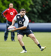 Picture by Andrew Tobin/Tobinators Ltd +44 7710 761829.24/05/2013.England captain Rob Webber in action during the England training session at Pennyhill Park, Bagshot ahead of the match against the Barbarians on 26th May 2013.