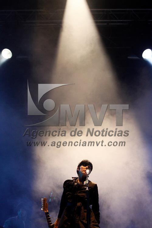 VALLE DE BRAVO, México.- La cantante Ely Guerra se presento momento en el Festival de las Almas momentos previos a la actuación de Fito Páez, por alrededor de una hora los asistentes a la presentación  corearon sus canciones. Agencia MVT / Crisanta Espinosa. (DIGITAL)