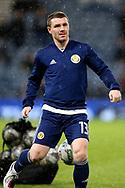 Scotland midfielder John Fleck (13)(Sheffield United) during the UEFA Nations League match between Scotland and Israel at Hampden Park, Glasgow, United Kingdom on 20 November 2018.
