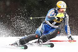 MYHRER Andre  of Sweden during the 1st Run of Men's Slalom - Pokal Vitranc 2013 of FIS Alpine Ski World Cup 2012/2013, on March 10, 2013 in Vitranc, Kranjska Gora, Slovenia.  (Photo By Vid Ponikvar / Sportida.com)