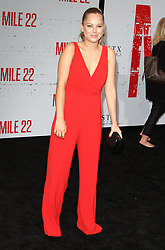 Mille 22 Premiere at The Regency Village Theatre in Westwood, California on 8/9/18. 09 Aug 2018 Pictured: Julia DeMars. Photo credit: River / MEGA TheMegaAgency.com +1 888 505 6342