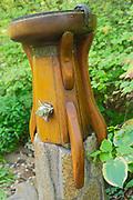 Water fountain sculpture, Chanticleer Gardens, Wayne, PA