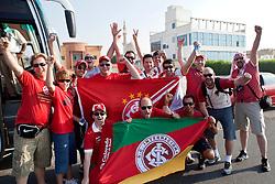 Torcedores da Equipe do S.C. Internacional passeiam em Dubai. O S.C. Internacional participa de 8 a 18 de dezembro do Mundial de Clubes da FIFA, em Abu Dhabi. FOTO: Jefferson Bernardes/Preview.com