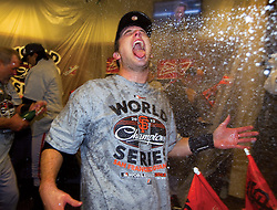 Buster Posey and the San Francisco Giants win, 2012
