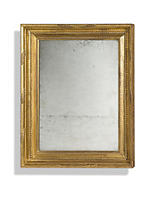 Gilded antique mirror