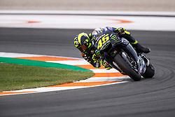 November 17, 2019, Valence, Espagne: VALENTINO ROSSI - ITALIAN - MONSTER ENERGY YAMAHA MotoGP - YAMAHA (Credit Image: © Panoramic via ZUMA Press)