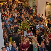 NLD/Amsterdam/20190912 - Expositie opening hoezencollectie Govert de Roos, Genodigden