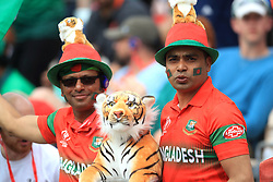 Bangladesh fans show their support during the ICC Cricket World Cup group stage match at The Hampshire Bowl, Southampton.