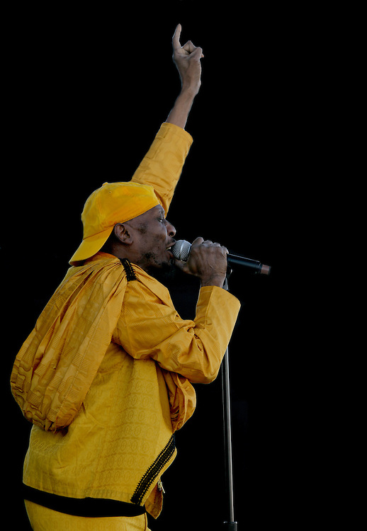 Jimmy Cliff performs live at the 2010 Mile High Music Festival in Denver, Colorado.