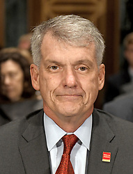 "October 3, 2017 - Washington, District of Columbia, United States of America - Timothy J. Sloan, Chief Executive Officer and President, Wells Fargo & Company, prior to giving testimony before the United States Senate Committee on Banking, Housing, and Urban Affairs as they conduct a hearing entitled, ""Wells Fargo: One Year Later'' on Capitol Hill in Washington, DC on Tuesday, October 3, 2017. .Credit: Ron Sachs / CNP (Credit Image: © Ron Sachs/CNP via ZUMA Wire)"