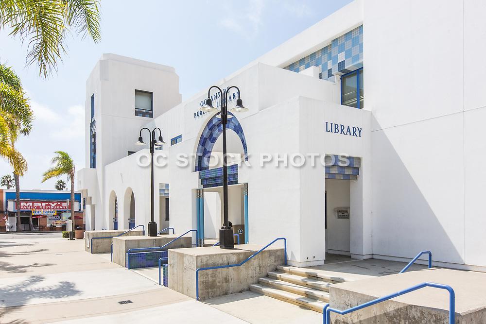 Oceanside Public Library Front Entrance