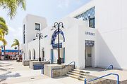 Oceanside Public Library Front Entrance