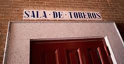 """THEMENBILD - Die """"Sala de Toreros"""" in der Stierkampfarena Las Ventas. Die Stadt Madrid ist eine der größten Metropolen in Europa. Sie liegt im Zentrum der iberischen Halbinsel und ist Hauptstadt von Spanien. Aufgenommen am 25.03.2016 in Madrid ist Spanien // Madrid is on of the biggest metropolis in Europe. It is located in the center of the Iberian Peninsula and is the capital of Spain. Spain on 2016/03/25. EXPA Pictures © 2016, PhotoCredit: EXPA/ Jakob Gruber"""