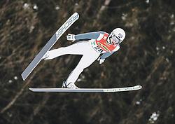 16.02.2020, Kulm, Bad Mitterndorf, AUT, FIS Ski Flug Weltcup, Kulm, Herren, im Bild Artti Aigro (EST) // Artti Aigro of Estonia during the men's FIS Ski Flying World Cup at the Kulm in Bad Mitterndorf, Austria on 2020/02/16. EXPA Pictures © 2020, PhotoCredit: EXPA/ JFK