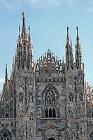 The Duomo in Milan..- ..Domkirken i Milano........