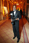 Photographer Tyrone Rasheed at The Fifth Annual Grace in Winter Gala honoring Susan Taylor, Kephra Burns, Noel Hankin and Moet Hennessey USA and benfiting The Evidence Dance Company held at The Plaza Hotel on February 3, 2009 in New York City.