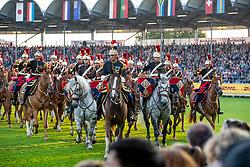 Opening ceremony, Garde Républicaine<br /> CHIO Aachen 2019<br /> Weltfest des Pferdesports<br /> © Hippo Foto - Dirk Caremans<br /> Opening ceremony, Garde Républicaine