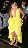 Margot Robbie, Harper's Bazaar Women of the Year Awards, Claridge's, London UK, 04 November 2014, Photo by Richard Goldschmidt