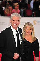 © licensed to London News Pictures. London, UK  22/05/11 Phillip Schofield  attends the BAFTA Television Awards at The Grosvenor Hotel in London . Please see special instructions for usage rates. Photo credit should read AlanRoxborough/LNP