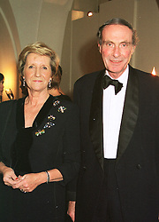 LORD & LADY FAIRHAVEN at a dinner in London on 30th November 1998.MMK 30