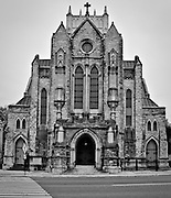 St. Mary's Cathedral near downtown Memphis, Tennessee.