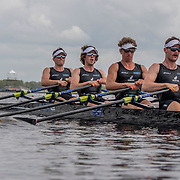 Lewis Hollows, Cameron Crampton, Nathan Flannery and Giacomo Thomas New Zealand Mens Coxless Quad<br /> <br /> Qualification heats at the World Championships, Sarasota, Florida, USA Sunday 24 September 2017. Copyright photo © Steve McArthur / www.photosport.nz