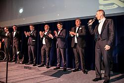 Equi Gala, Maenhaut Wim, Detry Stephan, Philippaerts Ludo, Orlans Olivier, Helmut Lotti<br /> Equigala - Brussel 2020<br /> © Hippo Foto - Dirk Caremans<br /> 21/01/2020