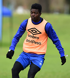 Cape Town-180801-Cape Town City's Kouassi Kouadja at training session at Hartleyvale Stadium, ahead of their opening game of the 2018/2019 PSL season against Supersport United at Cape Town Stadium on saturday.Photograph:Phando Jikelo/African News Agency/ANA
