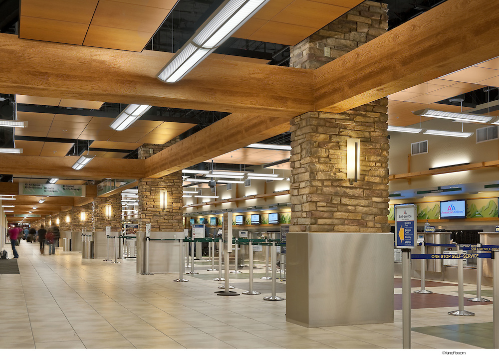 Aviation Reno Tahoe Airport by GSP Architects and Q&D Construction, Reno, NV