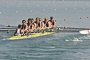 Banyoles, SPAIN, GBR M8+, Bow {R} Tom WILKINSON, James FOAD, Jame ORME, Tom BURTON, Mo SBIHI, Tom SOLESBURY, Tom RANSLEY and James CLARKE, cox Phelan HILL at the start of the race for lanes in the Men's Eights  FISA World Cup Rd 1. Lake Banyoles  Saturday, 30/05/2009   [Mandatory Credit. Peter Spurrier/Intersport Images]