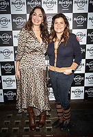 Nadia Wadia and Tonia Buxton at the Hard Rock Cafe celebrity-studded Christmas party for children's charity Fight For Life LONDON, 2 December 2019