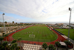 A general view of the pre-season friendly between Bristol City and Atletico Union Guimar at Tenerife Top Training Centre - Mandatory by-line: Matt McNulty/JMP - 22/07/2017 - FOOTBALL - Tenerife Top Training - Costa Adeje, Tenerife - Bristol City v Atletico Union Guimar  - Pre-Season Friendly