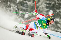 Justin Murisier of Switzerland during 2nd run of Men's Giant Slalom race of FIS Alpine Ski World Cup 57th Vitranc Cup 2018, on March 3, 2018 in Podkoren, Kranjska Gora, Slovenia. Photo by Ziga Zupan / Sportida
