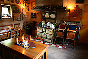 Belgium old style kitchen in a farmhouse