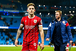 Josh Brownhill of Bristol City comes off the pitch after Manchester City win 2-1 in added time - Rogan/JMP - 09/01/2018 - Etihad Stadium - Manchester, England - Manchester City v Bristol City - Carabao Cup Semi Final First Leg.