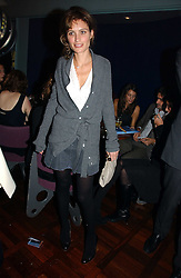 SHEHERAZADE GOLDSMITH  at a party to celebrate the publication of 'The year of Eating Dangerously' by Tom Parker Bowles held at Kensington Place, 201 Kensington Church Street, London on 12th october 2006.<br /><br />NON EXCLUSIVE - WORLD RIGHTS