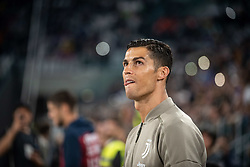 September 26, 2018 - Turin, Piedmont/Turin, Italy - Cristiano Ronaldo of Juventus FC during the Serie A match between Juventus and Bologna at the Allianz Stadium, Juventus won 2-0 in Turin, Italy on 26 September 2018. (Credit Image: © Alberto Gandolfo/Pacific Press via ZUMA Wire)