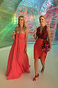 SANTA PASTERA; IZABELLA ANDERSSON, Serpentine's Summer party co-hosted with Christopher Kane. 15th Serpentine Pavilion designed by Spanish architects Selgascano. Kensington Gardens. London. 2 July 2015.