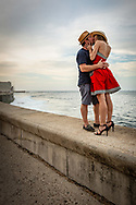 Malecón Seawall Kiss, Havana, Cuba.