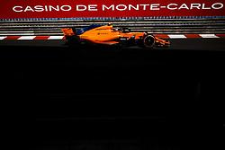 May 24, 2018 - Montecarlo, Monaco - 02 Stoffel Vandoorne from Belgium with McLaren Renault MCL33 during the Monaco Formula One Grand Prix  at Monaco on 24th of May, 2018 in Montecarlo, Monaco. (Credit Image: © Xavier Bonilla/NurPhoto via ZUMA Press)