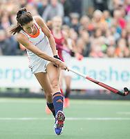 AMSTERDAM - Hockey - Naomi van As (Neth) .  Interland tussen de vrouwen van Nederland en Groot-Brittannië, in de Rabo Super Serie 2016 .  COPYRIGHT KOEN SUYK