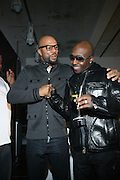 l to r: Common and Kwame at the Common Celebration for the Capsule Line Launch with Softwear by Microsoft at Skylight Studios on December 3, 2008 in New York City..Microsoft celebrates the launch of a limited-edition capsule collection of SOFTWEAR by Microsoft graphic tees designed by Common. The t-shirt  designs. inspired by the 1980's when both Microsoft and and Hip Hop really came of age, include iconography that depicts shared principles of the technology company and the Hip Hop Star.