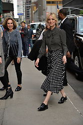 May 16, 2019 - New York, NY, USA - May 16, 2019 New York City..Kaley Cuoco arriving to tape an appearance on 'The Late Show with Stephen Colbert' on May 16, 2019 in New York City. (Credit Image: © Kristin Callahan/Ace Pictures via ZUMA Press)