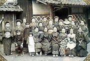 group photo with manly women Japan ca 1930s