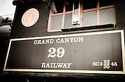 Steam engine, Grand Canyon Railway, Williams, Arizona USA